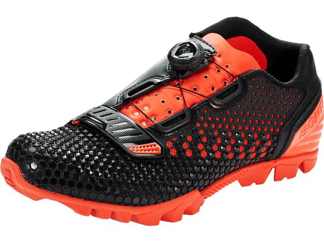 Bontrager Rhythm MTB Schuhe Herren black/roarange